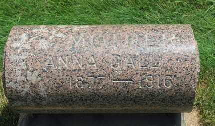 GALL, ANNA - Medina County, Ohio | ANNA GALL - Ohio Gravestone Photos