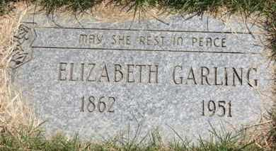 GARLING, ELIZABETH - Medina County, Ohio | ELIZABETH GARLING - Ohio Gravestone Photos