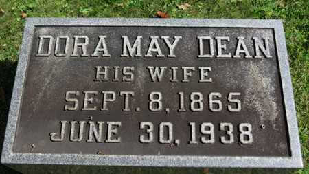 DEAN GARVER, DORA MAY - Medina County, Ohio | DORA MAY DEAN GARVER - Ohio Gravestone Photos