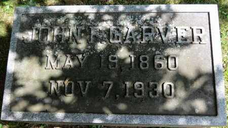GARVER, JOHN F. - Medina County, Ohio | JOHN F. GARVER - Ohio Gravestone Photos