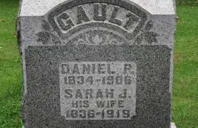 GAULT, SARAH J. - Medina County, Ohio | SARAH J. GAULT - Ohio Gravestone Photos