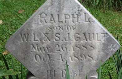 GAULT, W.L. - Medina County, Ohio | W.L. GAULT - Ohio Gravestone Photos