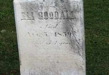 GOODALE, ELI - Medina County, Ohio | ELI GOODALE - Ohio Gravestone Photos