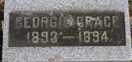 HART, GEORGIE GRACE - Medina County, Ohio | GEORGIE GRACE HART - Ohio Gravestone Photos