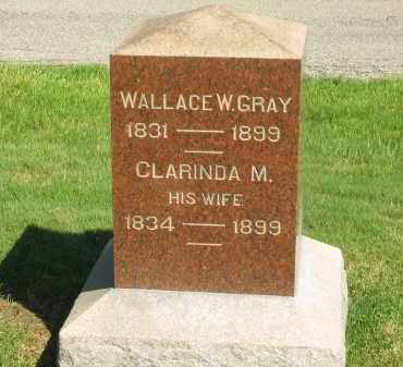 GRAY, WALLACE W. - Medina County, Ohio | WALLACE W. GRAY - Ohio Gravestone Photos