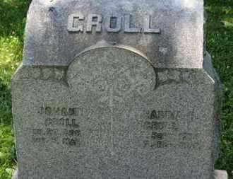 GROLL, JOHANN - Medina County, Ohio | JOHANN GROLL - Ohio Gravestone Photos