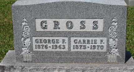GROSS, CARRIE F. - Medina County, Ohio | CARRIE F. GROSS - Ohio Gravestone Photos