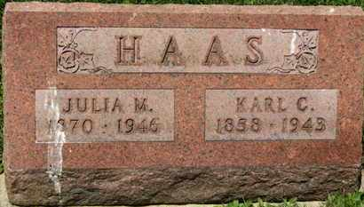 HAAS, JULIA M. - Medina County, Ohio | JULIA M. HAAS - Ohio Gravestone Photos
