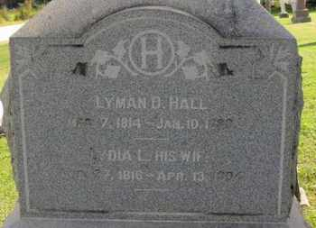HALL, LYMAN D. - Medina County, Ohio | LYMAN D. HALL - Ohio Gravestone Photos