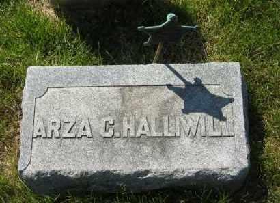 HALLIWILL, ARZA - Medina County, Ohio | ARZA HALLIWILL - Ohio Gravestone Photos