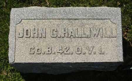 HALLIWILL, JOHN C. - Medina County, Ohio | JOHN C. HALLIWILL - Ohio Gravestone Photos