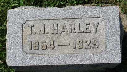 HARLEY, T.J. - Medina County, Ohio | T.J. HARLEY - Ohio Gravestone Photos