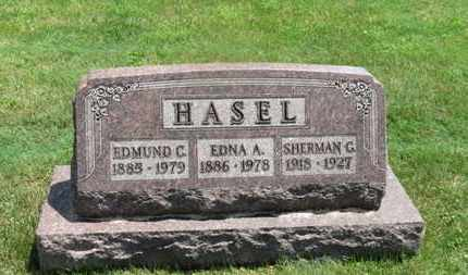 HASEL, EDNA A. - Medina County, Ohio | EDNA A. HASEL - Ohio Gravestone Photos