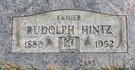 HINTZ, RUDOLPH - Medina County, Ohio | RUDOLPH HINTZ - Ohio Gravestone Photos