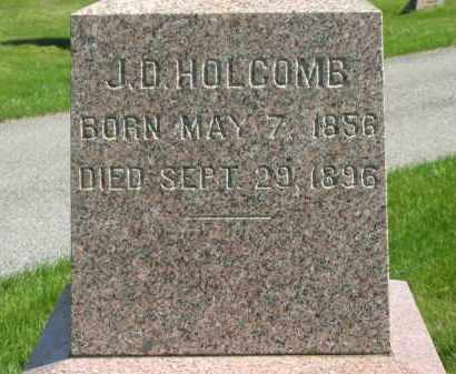 HOLCOMB, J. D. - Medina County, Ohio | J. D. HOLCOMB - Ohio Gravestone Photos