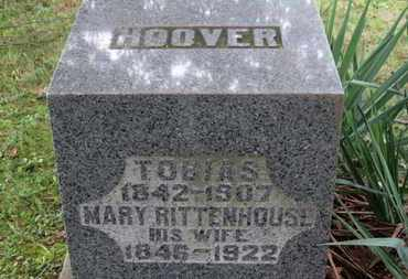 RITTENHOUSE HOOVER, MARY - Medina County, Ohio | MARY RITTENHOUSE HOOVER - Ohio Gravestone Photos