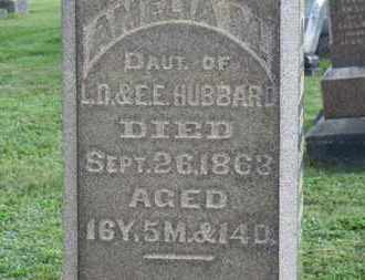 HUBBARD, AMELIA M. - Medina County, Ohio | AMELIA M. HUBBARD - Ohio Gravestone Photos