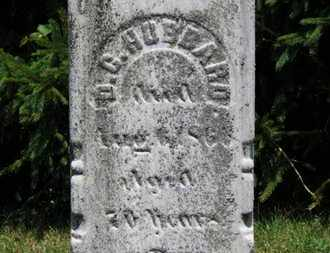 HUBBARD, D. G. - Medina County, Ohio | D. G. HUBBARD - Ohio Gravestone Photos