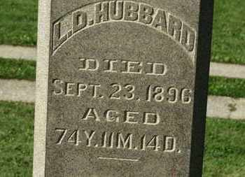 HUBBARD, L.D. - Medina County, Ohio | L.D. HUBBARD - Ohio Gravestone Photos