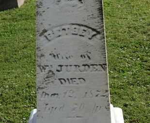 JURDEN, BETSEY - Medina County, Ohio | BETSEY JURDEN - Ohio Gravestone Photos