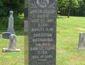 KELLER, JACOB - Medina County, Ohio | JACOB KELLER - Ohio Gravestone Photos