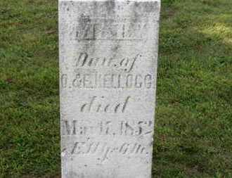 KELLOGG, MARY - Medina County, Ohio | MARY KELLOGG - Ohio Gravestone Photos