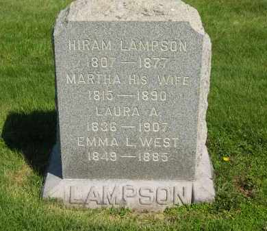 LAMPSON, HIRAM - Medina County, Ohio | HIRAM LAMPSON - Ohio Gravestone Photos