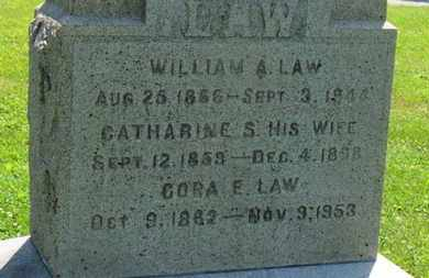 LAW, CATHARINE S. - Medina County, Ohio | CATHARINE S. LAW - Ohio Gravestone Photos