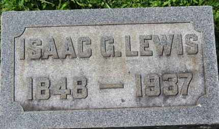 LEWIS, ISAAC G. - Medina County, Ohio | ISAAC G. LEWIS - Ohio Gravestone Photos