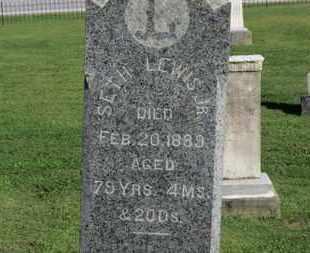 LEWIS, SETH - Medina County, Ohio | SETH LEWIS - Ohio Gravestone Photos