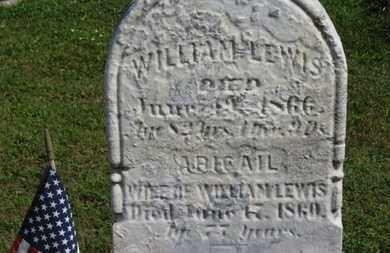 LEWIS, ABIGAIL - Medina County, Ohio | ABIGAIL LEWIS - Ohio Gravestone Photos