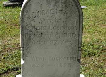 LOCKWOOD, MIRAETTA - Medina County, Ohio | MIRAETTA LOCKWOOD - Ohio Gravestone Photos