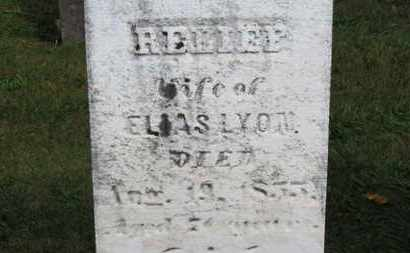 LYON, RELIEF - Medina County, Ohio | RELIEF LYON - Ohio Gravestone Photos