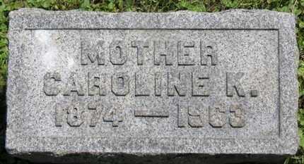 MACK, CAROLINE K. - Medina County, Ohio | CAROLINE K. MACK - Ohio Gravestone Photos