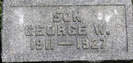 MACK, GEORGE W. - Medina County, Ohio   GEORGE W. MACK - Ohio Gravestone Photos