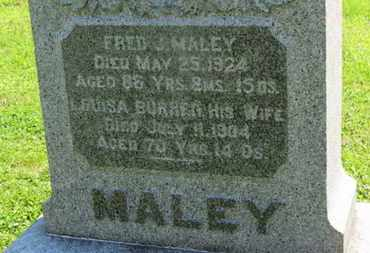 MALEY, FRED J. - Medina County, Ohio | FRED J. MALEY - Ohio Gravestone Photos