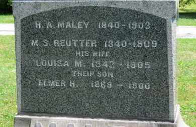 REUTTER, LOUISA M. - Medina County, Ohio | LOUISA M. REUTTER - Ohio Gravestone Photos