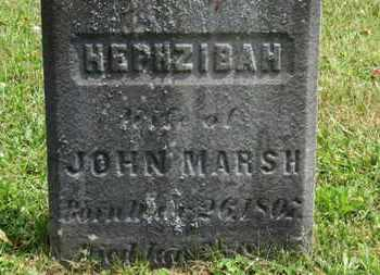 MARSH, JOHN - Medina County, Ohio | JOHN MARSH - Ohio Gravestone Photos