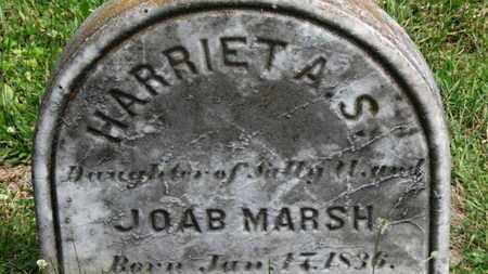 MARSH, HARRIET A.S. - Medina County, Ohio | HARRIET A.S. MARSH - Ohio Gravestone Photos