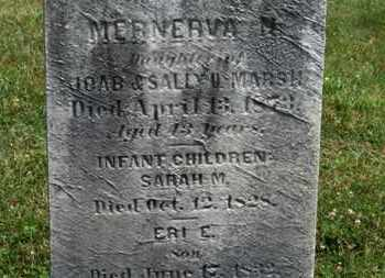 MARSH, ERI E. - Medina County, Ohio | ERI E. MARSH - Ohio Gravestone Photos