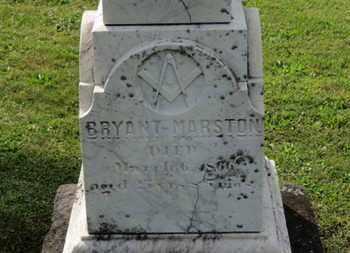 MARSTON, BRYANT - Medina County, Ohio | BRYANT MARSTON - Ohio Gravestone Photos