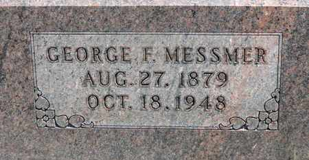 MESSMER, GEORGE F. - Medina County, Ohio | GEORGE F. MESSMER - Ohio Gravestone Photos