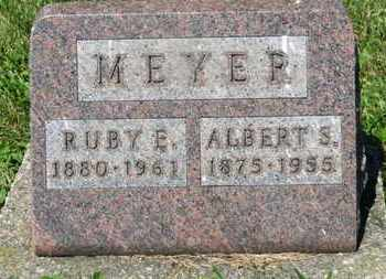 MEYER, RUBY E. - Medina County, Ohio | RUBY E. MEYER - Ohio Gravestone Photos
