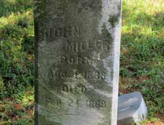 MILLER, JOHN - Medina County, Ohio | JOHN MILLER - Ohio Gravestone Photos