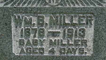 MILLER, WM. B. - Medina County, Ohio | WM. B. MILLER - Ohio Gravestone Photos
