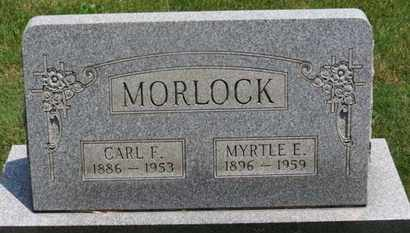 MORLOCK, MYRTLE E. - Medina County, Ohio | MYRTLE E. MORLOCK - Ohio Gravestone Photos
