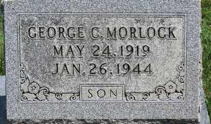 MORLOCK, GEORGE C. - Medina County, Ohio | GEORGE C. MORLOCK - Ohio Gravestone Photos