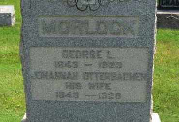 MORLOCK, GEORGE L. - Medina County, Ohio | GEORGE L. MORLOCK - Ohio Gravestone Photos