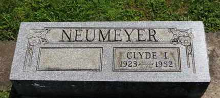 NEUMEYER, CLYDE I. - Medina County, Ohio | CLYDE I. NEUMEYER - Ohio Gravestone Photos