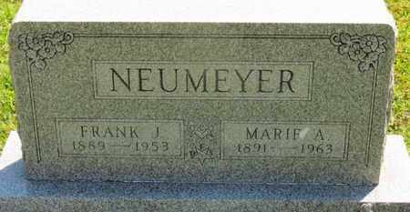 NEUMEYER, MARIE F. - Medina County, Ohio | MARIE F. NEUMEYER - Ohio Gravestone Photos